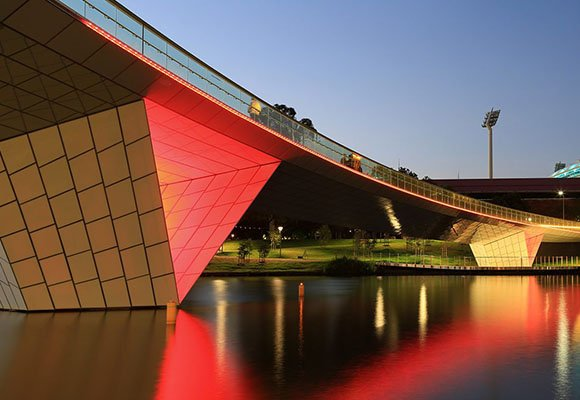 _0003_Pedestrian Bridge in Adelaide, Australia